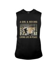 A Girl And Her Dog Sleeveless Tee thumbnail
