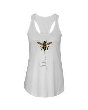 Let It Bee Ladies Flowy Tank thumbnail