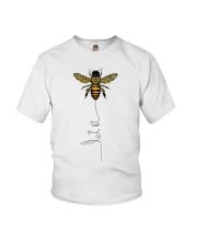 Let It Bee Youth T-Shirt tile