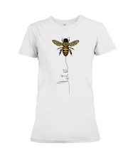 Let It Bee Premium Fit Ladies Tee tile