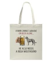 Irish Wolfhound Tote Bag thumbnail