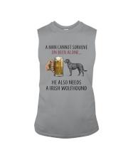 Irish Wolfhound Sleeveless Tee thumbnail