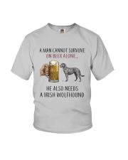 Irish Wolfhound Youth T-Shirt thumbnail