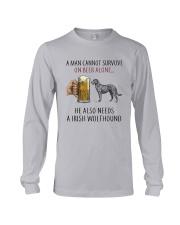 Irish Wolfhound Long Sleeve Tee thumbnail
