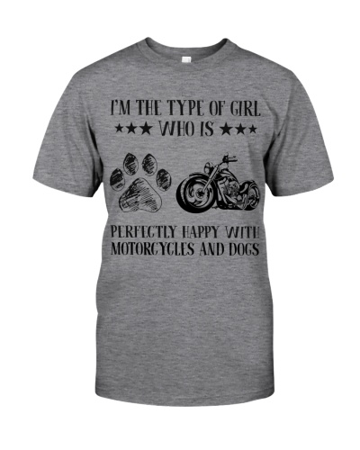 Motorcylces And Dogs