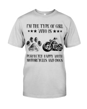 Motorcylces And Dogs Premium Fit Mens Tee thumbnail