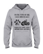 Motorcylces And Dogs Hooded Sweatshirt thumbnail