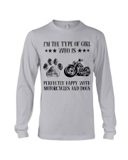 Motorcylces And Dogs Long Sleeve Tee thumbnail