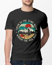 Listen To The Wind Blow Classic T-Shirt lifestyle-mens-crewneck-front-13