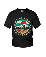 Listen To The Wind Blow Youth T-Shirt thumbnail