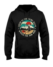 Listen To The Wind Blow Hooded Sweatshirt thumbnail