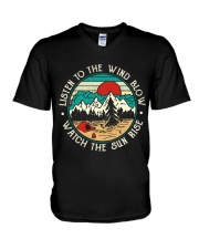 Listen To The Wind Blow V-Neck T-Shirt thumbnail