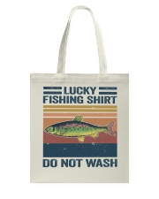 Lucky Fishing Shirt Tote Bag thumbnail
