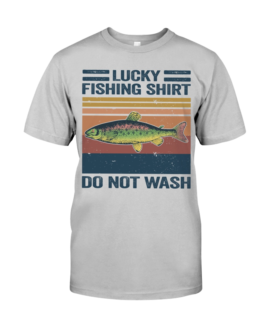 Lucky Fishing Shirt Classic T-Shirt