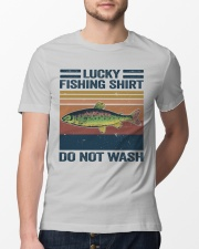 Lucky Fishing Shirt Classic T-Shirt lifestyle-mens-crewneck-front-13