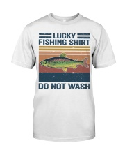 Lucky Fishing Shirt Classic T-Shirt tile