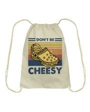 Don't Be Cheesy Drawstring Bag thumbnail