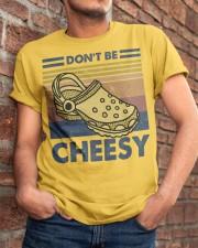 Don't Be Cheesy Classic T-Shirt apparel-classic-tshirt-lifestyle-26