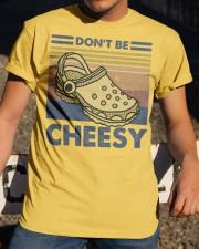 Don't Be Cheesy Classic T-Shirt apparel-classic-tshirt-lifestyle-28