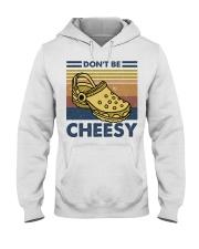 Don't Be Cheesy Hooded Sweatshirt thumbnail
