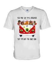 Tibetan Mastiff V-Neck T-Shirt thumbnail