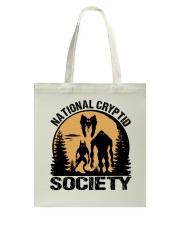 National Cryptid Society Tote Bag thumbnail