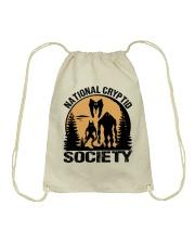 National Cryptid Society Drawstring Bag thumbnail