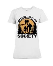 National Cryptid Society Premium Fit Ladies Tee thumbnail