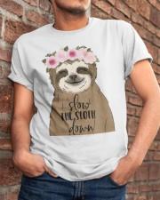 Slow Down Classic T-Shirt apparel-classic-tshirt-lifestyle-26