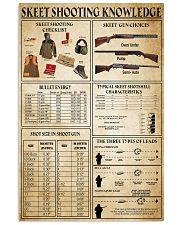 Skeet Shooting Knowledge 11x17 Poster front