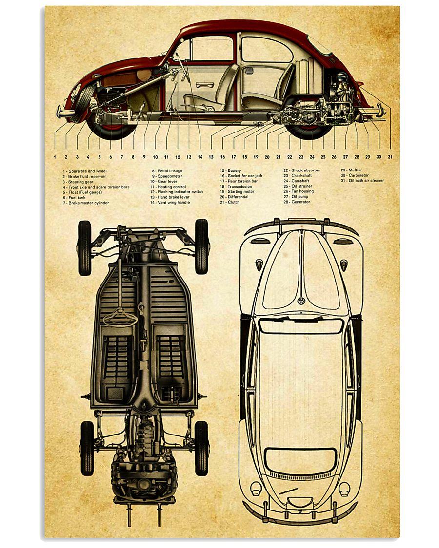 Car Detail 11x17 Poster