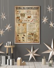 Shiba Inu Knowledge 11x17 Poster lifestyle-holiday-poster-1