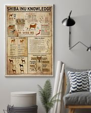 Shiba Inu Knowledge 11x17 Poster lifestyle-poster-1