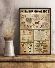 Shiba Inu Knowledge 11x17 Poster lifestyle-poster-3