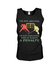 I Am Not Arguing A Penalty Unisex Tank thumbnail