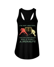 I Am Not Arguing A Penalty Ladies Flowy Tank thumbnail