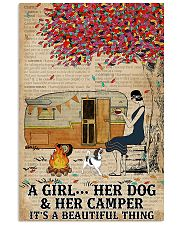 A Girl And Her Dog 11x17 Poster front