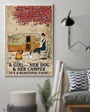 A Girl And Her Dog 11x17 Poster lifestyle-poster-1