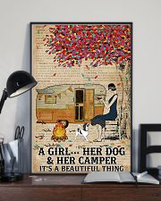 A Girl And Her Dog 11x17 Poster lifestyle-poster-2