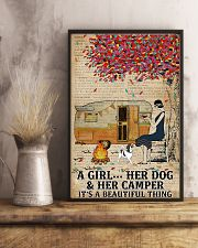 A Girl And Her Dog 11x17 Poster lifestyle-poster-3