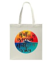 Half Of Me Is Ocean Tote Bag thumbnail