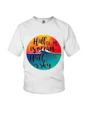 Half Of Me Is Ocean Youth T-Shirt thumbnail