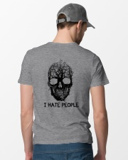 I Hate People Classic T-Shirt lifestyle-mens-crewneck-back-6