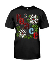 Peace Flowers Classic T-Shirt tile