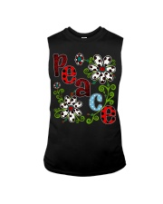Peace Flowers Sleeveless Tee thumbnail