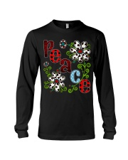 Peace Flowers Long Sleeve Tee thumbnail