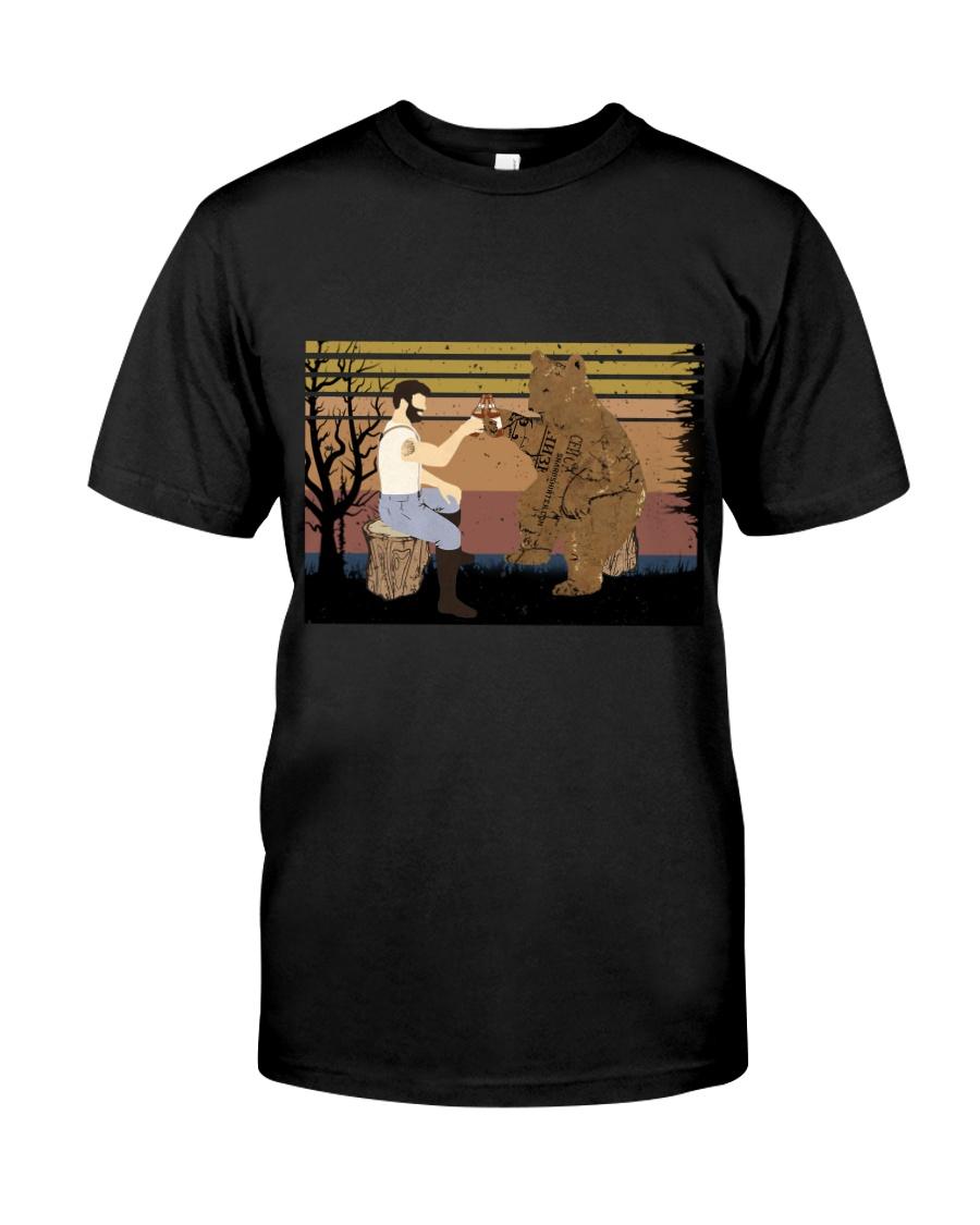 Beard Funny Classic T-Shirt