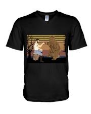 Beard Funny V-Neck T-Shirt thumbnail