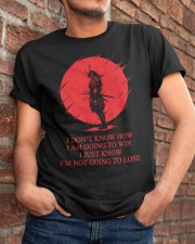 Samurai Classic T-Shirt apparel-classic-tshirt-lifestyle-26