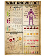 Wine Knowledge 11x17 Poster front